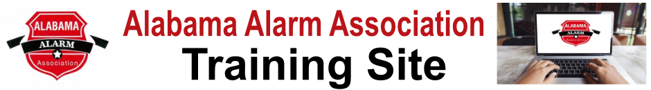 Alabama Alarm Assn Training
